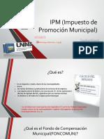 IPM (Impuesto de Promoción Municipal)