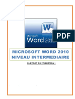 Support de Formation Word