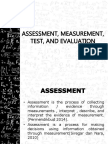 Lesson 2 - Measurement, Assessment, And Evaluaiton in Outcomes-based Education