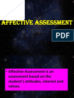 Lesson 4 - Assessment in the Affective Domain