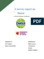 Market Survey Report On
