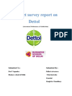 Market Survey Report On