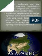 Pariwisata Dan Karakteristik Wisatawan Asia Pasific