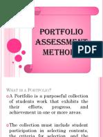 Lesson 6 - Portfolio Assessment