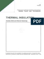 PLEA Note 2 Thermal Insulation Lowre