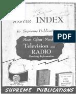 Radio Diagrams Index