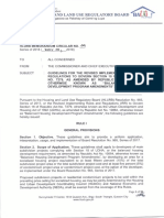 MC-18-09 (Guidelines for the Revised IRR of R.A. 7279 as amended by R.A. 10884