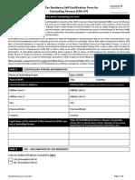 Change in Portfolio Information