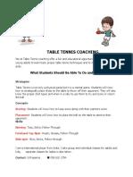 TT Coaching 2016