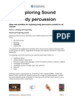 188872447 Exploring Sound Body Percussion