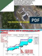 Hasil Perhitungan HEC-RAS