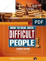 Dealing with difficulti people