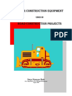 Construction Equipment Used in Road Construction Road Surface