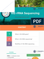 Introduction to 16s RRNA Sequencing-CD Genomics