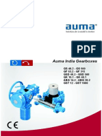AUMA gearbox catalogue