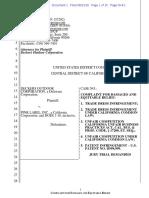 Deckers v. Pink Label - Complaint