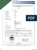 Applicant Giving Alpha-numeric TID Details