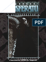 1992 WW2222 Vampire Storytellers Handbook (Text Only)