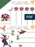 Cuaderno de Recortes Cuentos Infantiles Por Mundo de Rukkia