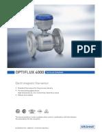OPTIFLUX 4000