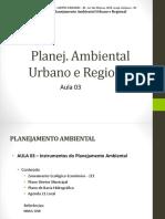 Aula 03 - Instrumentos Do Planejamento