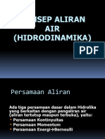 5b. Konsep Aliran Air (Hidrodinamika)1