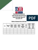 Formulario Monitoreo de Asistencia de Inicio de Año Escolar