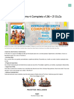 Download The Sims 4 Completo v1.36 + 21 DLCs inclusas + Crack - KnySims