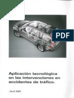 APLICACIÓN TECNOLÓGICA EN INTERVENCIONES EN ACCIDENTES DE TRÁFICO