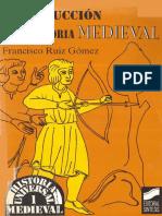 Ruiz Gomez - Introducción a La Historia Medieval