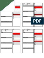 Flight Card PDF