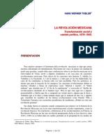 42 - Tobler, Hans Werner - La revolución mexicana.pdf