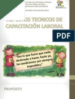 Capacitacion Laboral en el CAM