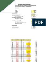 3.2.3 Calculo Hidraulico Redes Alcantarillado