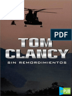 01 Tom Clancy Sin Remordimientos