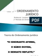 Ied II – Ordenamento Jurídico - Aula 2