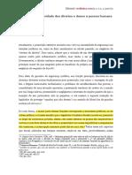 Prescrição, Efetividade Dos Direitos e Danos à Pessoa Humana - Maria Celina Bodin