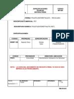 1.Especificaciones Técnica Materia Prima Reciclado.listo