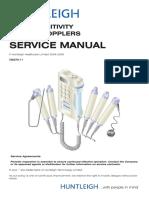 Huntleigh Pocket Doppler - Service manual.pdf