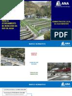 Procedimientos Para El Otorgamiento de Derechos de Uso de Agua - Ala Mantaro