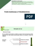 Fotodetectores e Fotoreceptores Saul