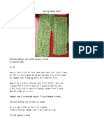 Revised Spring Petals Scarf