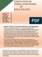 Leela Hotel promotional strategy