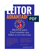 E-book Leitor Adiantado- 5 Motivos para você ensinar seu Filho  a Ler em Casa.pdf