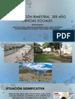 Planificación Bimestral 3ERaño – Ciencias Sociales