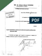 2017 15 Settembre Protocolo Comune Isola Delle Femmine 13127 Revisori Dei Conti Parere Non Favorevole (1)