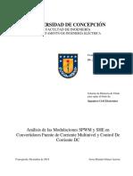 Tesis Analisis de Las Modulaciones SPWM y SHE