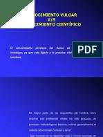 CONOCIMIENTO VULGAR vs CIENTIFICO.ppt