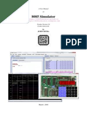 8085 Documentation | License | Assembly Language