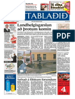 Fréttablaðið the Icelandic newspaper with the largest circulation 96/12/2005